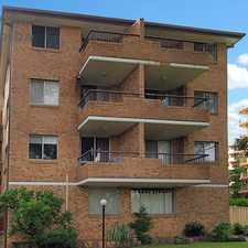 Rental info for 2 BED WITH LOCK UP GARAGE in the Westmead area