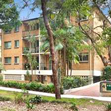 Rental info for PEACEFUL APARTMENT LIVING WITH DESIGNER APPEAL in the Sydney area