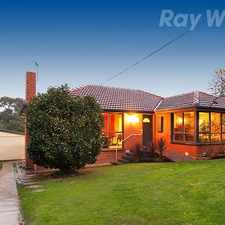 Rental info for BEAUTIFUL THREE BEDROOM HOME - 6 MONTH LEASE AVAILABLE! in the Bayswater North area
