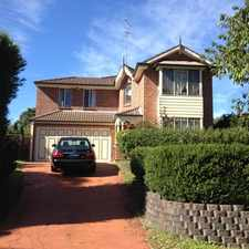 Rental info for OAKHILL - CASTLE HILL - 4 BEDROOM HOME