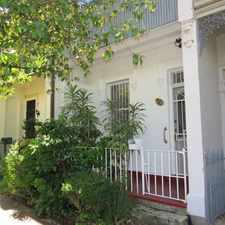 Rental info for DEPOSIT TAKEN - CHARMING 3 BEDROOM TERRACE IN THE HEART OF BONDI JUNCTION!