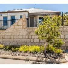 Rental info for Location Location!! in the Perth area