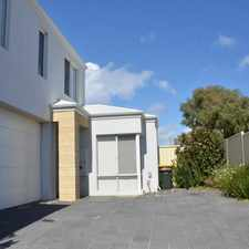 Rental info for All the extras - 3 bedroom rear townhouse Palm Beach in the Rockingham area