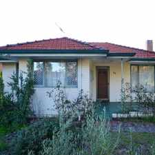 Rental info for CHARMING HOME NEAR RIVER! in the Perth area