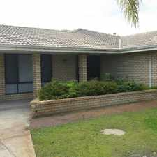 Rental info for Large Family home in Quiet Location in the Leeming area