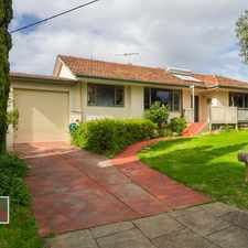 Rental info for Older Style Home on Large Block in an Ideal location! in the Churchlands area