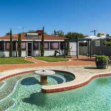 Rental info for Family Home with Below Ground Swimming Pool!