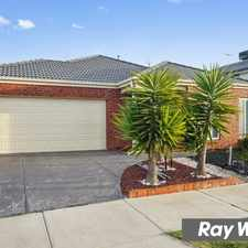 Rental info for Glamorous Family Home in the Tarneit area