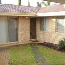 Rental info for WALK ACROSS THE ROAD TO BUTLERS RESERVE