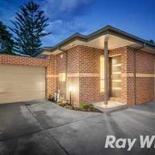 Rental info for PERFECT PACKAGE in the Nunawading area