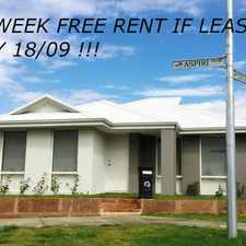 Rental info for SITTING PRETTY! in the Piara Waters area