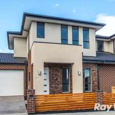 Rental info for BRAND NEW AND OWN STREET FRONTAGE