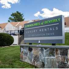 Rental info for The Townhomes of Beverly