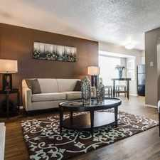 Rental info for View at Lake Highlands in the Dallas area
