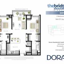 Rental info for The Bridges in the Dinkytown area