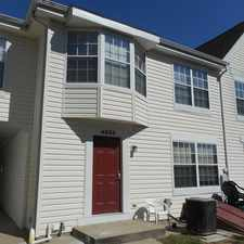 Rental info for 4825 Berwyn House Road in the College Park area