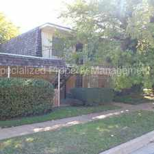 Rental info for 5836 #201 Locke, Ave, Fort Worth - Move in Ready! in the Como area