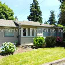 Rental info for Maywood Park Gem with beautiful large yard. in the Sumner area