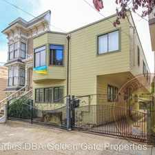 Rental info for 55 & 57 Valley Street in the Bernal Heights area