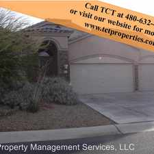 Rental info for 4247 N. Starry Pass