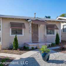 Rental info for 1620 Whitefield Rd # 5 in the 91104 area