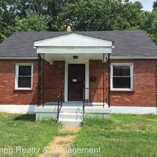 Rental info for 1623 Catalpa St. in the Park Duvalle area