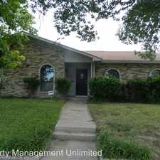 Rental info for 7407 Oakmore Dr in the Mountain Creek area
