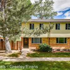 Rental info for 1745-1773 30th St in the Evans area