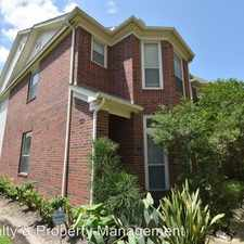 Rental info for 1747 HADLEY ST in the Greater Third Ward area