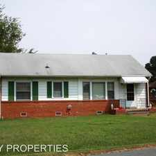 Rental info for 1712 Lyndover Road in the Mechanicsville area
