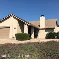 Rental info for 17268 Tablero Place