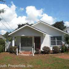 Rental info for 1620 - A E Strong St. in the 32501 area