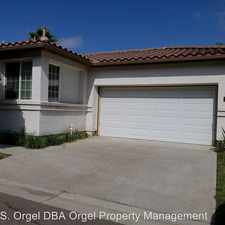 Rental info for 8531 Brian Place in the San Diego area