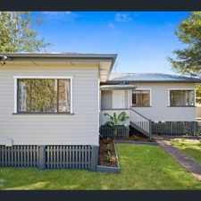 Rental info for RENOVATED COTTAGE IN SOUTH TOOWOOMBA in the Toowoomba area