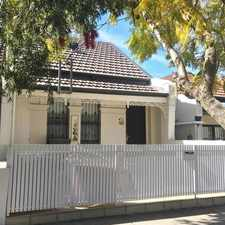 Rental info for Single Fronted Split Level family home in the Lilyfield area