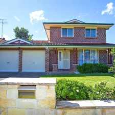 Rental info for Gorgeous Family Home! in the Sydney area