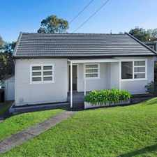 Rental info for Renovated Central Home in the Kiama area