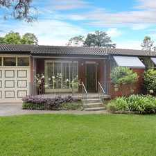 Rental info for DEPOSIT TAKEN. OPEN HOUSE CANCELLED in the Turramurra area