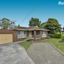 Rental info for No-Fuss Brick Beauty! in the Melbourne area