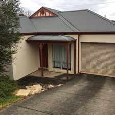 Rental info for Low Maintenance Living in the Mount Barker area
