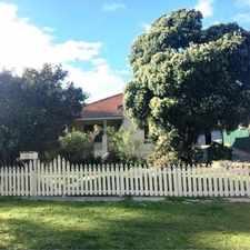 Rental info for Classic Character Style Home in the Ashfield area
