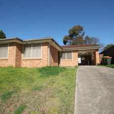 Rental info for SPACIOUS 3 BEDROOM in the Green Valley area