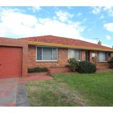 Rental info for QUAINT 3 X 1 FAMILY HOME - TUART HILL in the Perth area