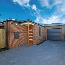 Rental info for Brand New Townhouse! in the Geelong area