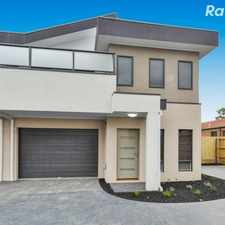 Rental info for Brand New Townhouse Awaits! in the Melbourne area