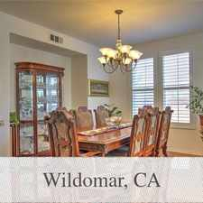 Rental info for If You Like Beautiful Homes This One Is For You... in the 92595 area