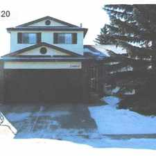 Rental info for Edmonton House for rent in the La Perle area