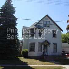 Rental info for 1202 Madison Street #4 in the Manitowoc area