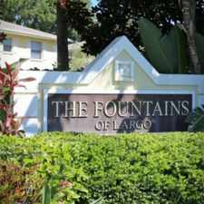 Rental info for Fountains of Largo
