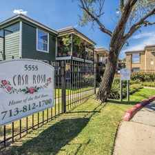 Rental info for Casa Rosa in the Houston area